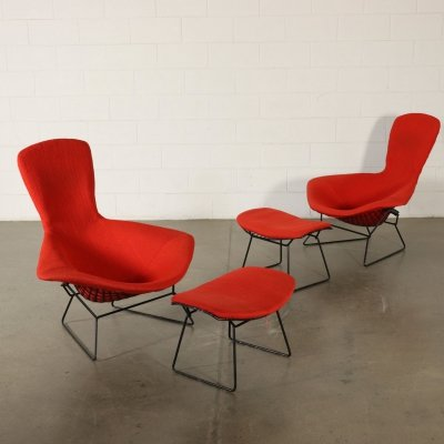 Pair of Armchairs by Harry Bertoia, 1960s