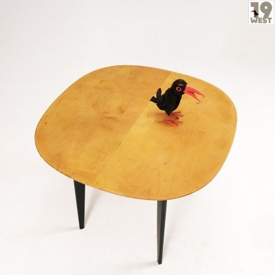 Modernist plywood side table from the 1950's