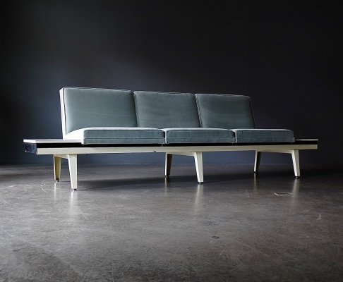 Steel Frame Seating Sofa by George Nelson for Herman Miller, 1960s