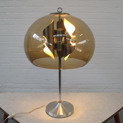 Vintage table lamp with 3 lights, 1960s