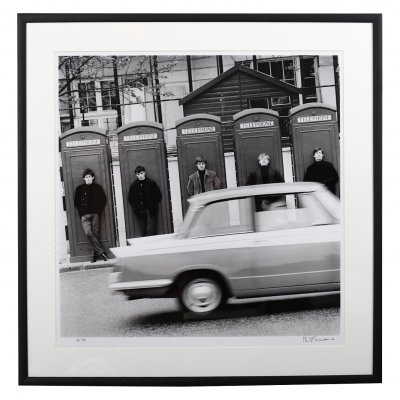 Limited Edition Philip Townsend 'The Rolling Stones at Marble Arch', 1963