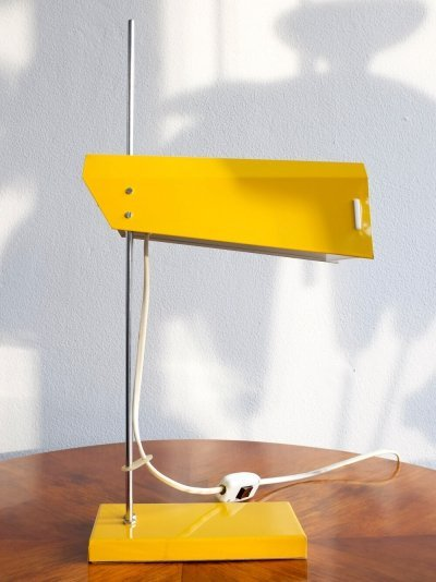 L 192-1353 desk lamp by Josef Hůrka for Lidokov, 1960s