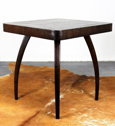 H259 coffee table by Jindřich Halabala, 1940s