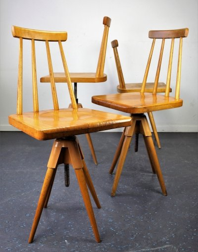 4 x vintage office chair, 1960s