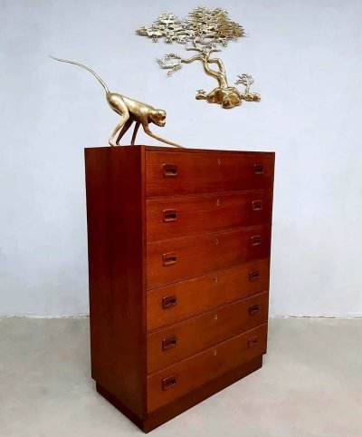 Vintage Danish design chest of drawers, 1950s