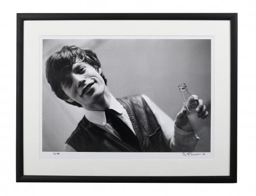 Philip Townsend (1940-2016) 'Mick Jagger at Studio 51', 1963 Limited Edition