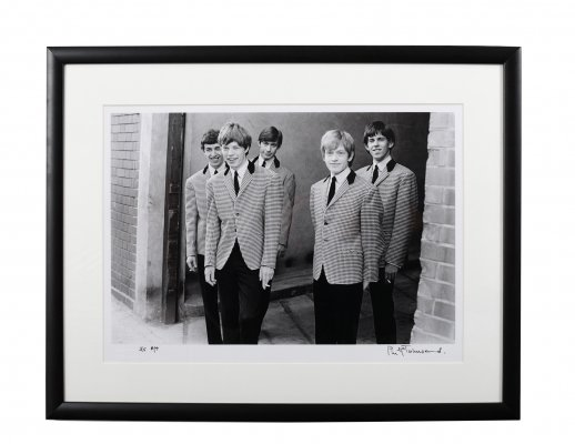 Philip Townsend (1940-2016) The Rolling Stones 'Outside Studio 51', 1963 Limited Edition