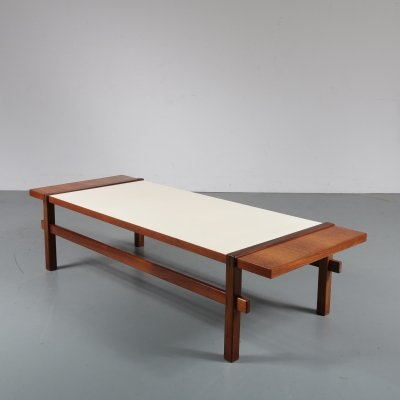 Reversible teak coffee table by Topform, Netherlands 1960s