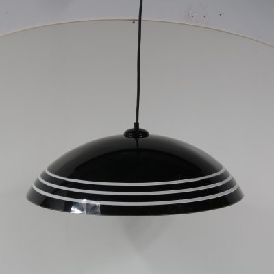 Perspex hanging lamp, Italy 1970s