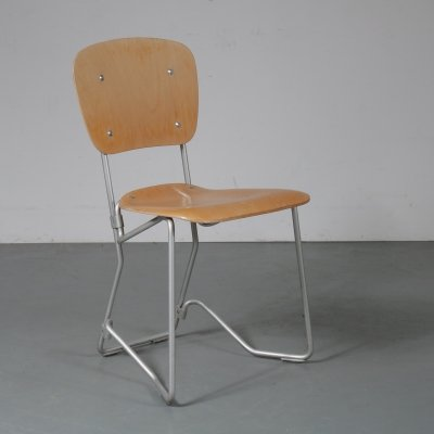 Early 'Aluflex' Chair by Armin Wirth, 1950s