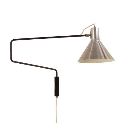 Elbow Wall Lamp by Hoogervorst for Anvia, 1960s