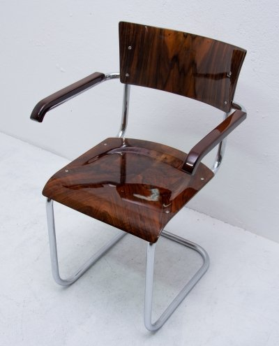 S43 arm chair by Mart Stam for Kovona NP, 1950s