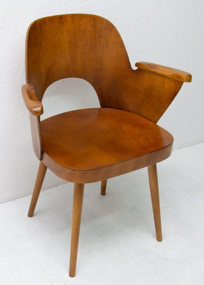Arm chair by Oswald Haerdtl for Ton N. P. Bystřice pod Hostýnem, 1960s