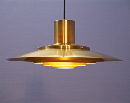 Danish pendant P 376 by Fabricius & Kastholm for Nordisk Solar, 1960s