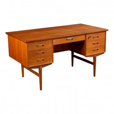 Vintage Danish design teak desk