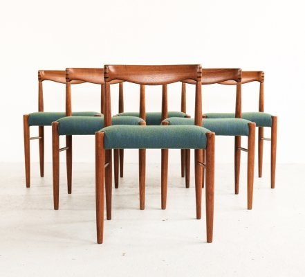 Set of 6 dining chairs by Henry W. Klein for Bramin, 1960s