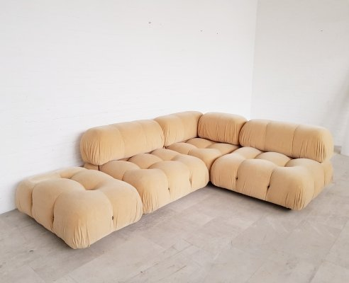 Camaleonda sofa in original fabric by Mario Bellini for C&B Italia, 1973