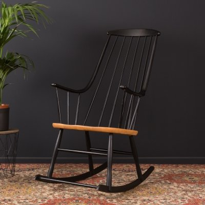 Rocking chair by Lena Larsson for Nesto from the 1950s