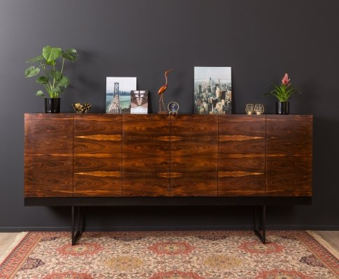 German rosewood buffet from the 1970s