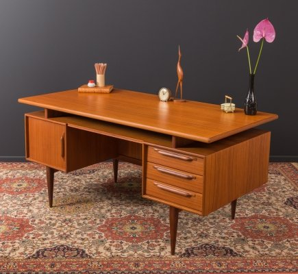 Writing desk by Heinrich Riestenpatt from the 1960s
