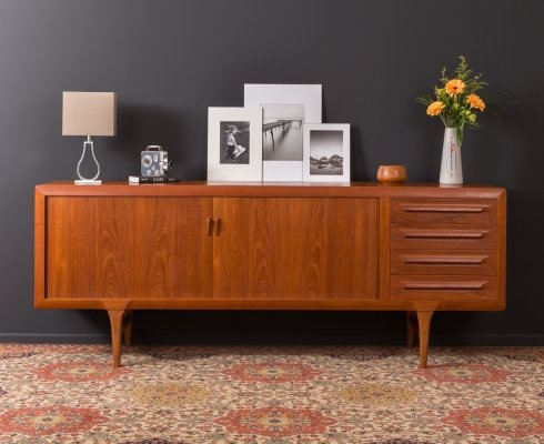 Danish Sideboard by Ib Kofod Larsen for Faarup, 1960s