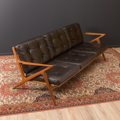 Z Lounge Sofa by Poul Jensen for Selig, 1950s