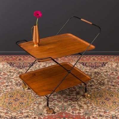 Scandinavian design Serving trolley, 1950s