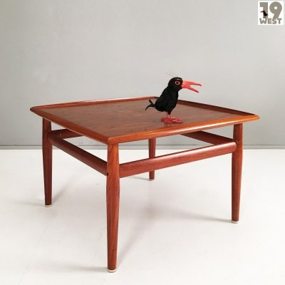 Danish teak coffee table by Grete Jalk for Glostrup