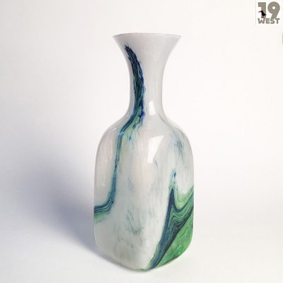 Studio glass vase from the 1960's