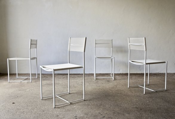 Set Of 4 Spaghetti Chairs By Giandomenico Belotti For Alias