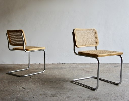 A pair Of 1980's Cantilever Cesca Chairs