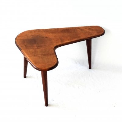 Boomerang shaped side table, 1950s
