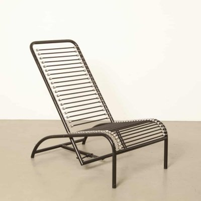 417 Sdraio lounge chair by Rene Herbst for Ecart International, 1930s