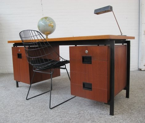 Writing desk EU02 by Cees Braakman for Pastoe, 1950s