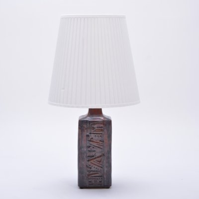 Vintage Danish Ceramic Table Lamp by Desiree Stentoj