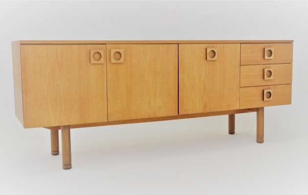 Minimalist sideboard by Uniflex, 1960s