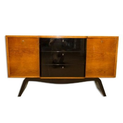 Midcentury Art Deco Sideboard / Chest of Drawers, 1940s