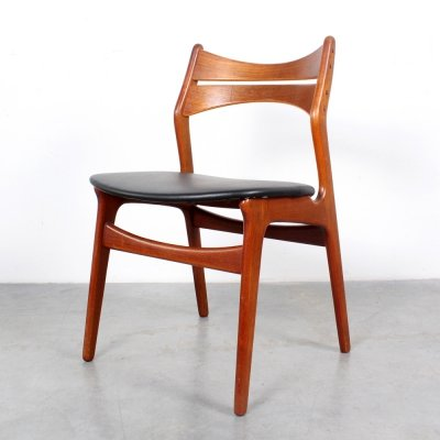 Set of 6 model 310 dining chairs by Erik Buch, 1960s