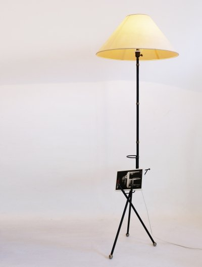 French floor lamp from the fifties