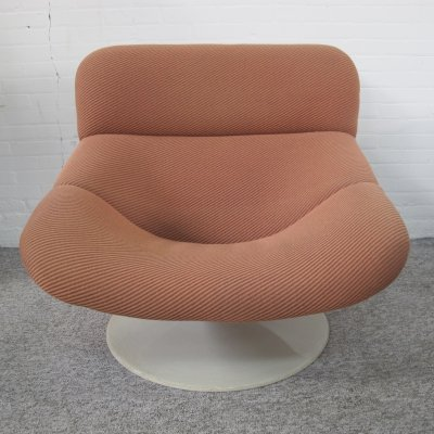 Artifort F518 Swivel Chair by Geoffrey Harcourt, 1970s