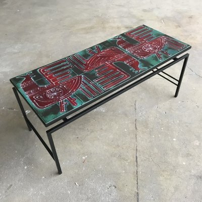 'Vallauris' coffeetable, France 1950s