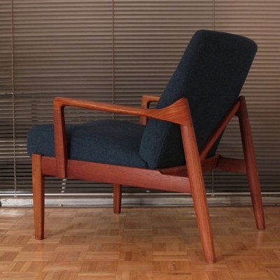 Model 125 Lounge Chair By Tove & Edvard Kindt-Larsen For France & Son