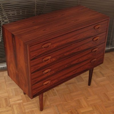 Kai Kristiansen Model 40 Rosewood Chest Of Drawers