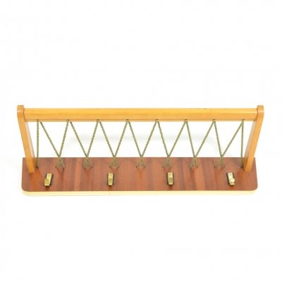 1970s Vintage German Coat Rack