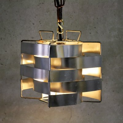 Cube Pendant Light by Max Sauze, 1970