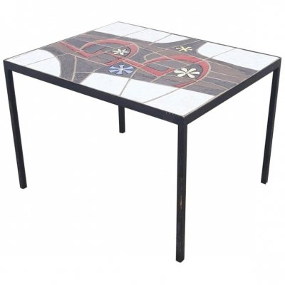 Coffee table by Paul Vermeire for Perignem, 1950s