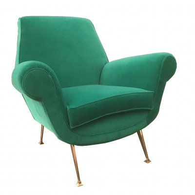 Armchair by Gigi Radice for Minotti, Italy 1960s