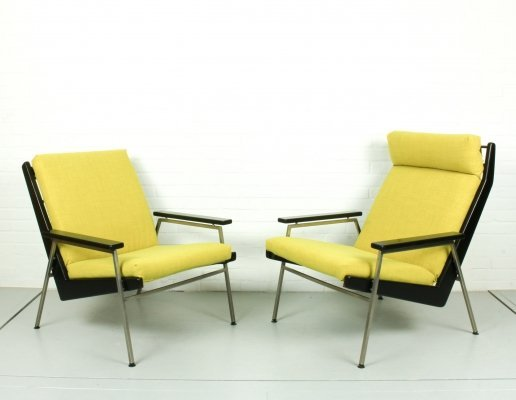 Set of 2 Mid Century 'Lotus' Chairs by Rob Parry for Gelderland, 1960s
