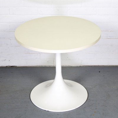 White Model 3665 Tulip Side Table from Ilse Möbel, 1970s