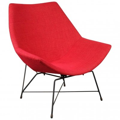 Lounge chair by Augusto Bozzi for Saporiti, 1950s